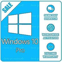 Microsoft Windows 10 Pro 32/64 bit ESD - only download NO DVD