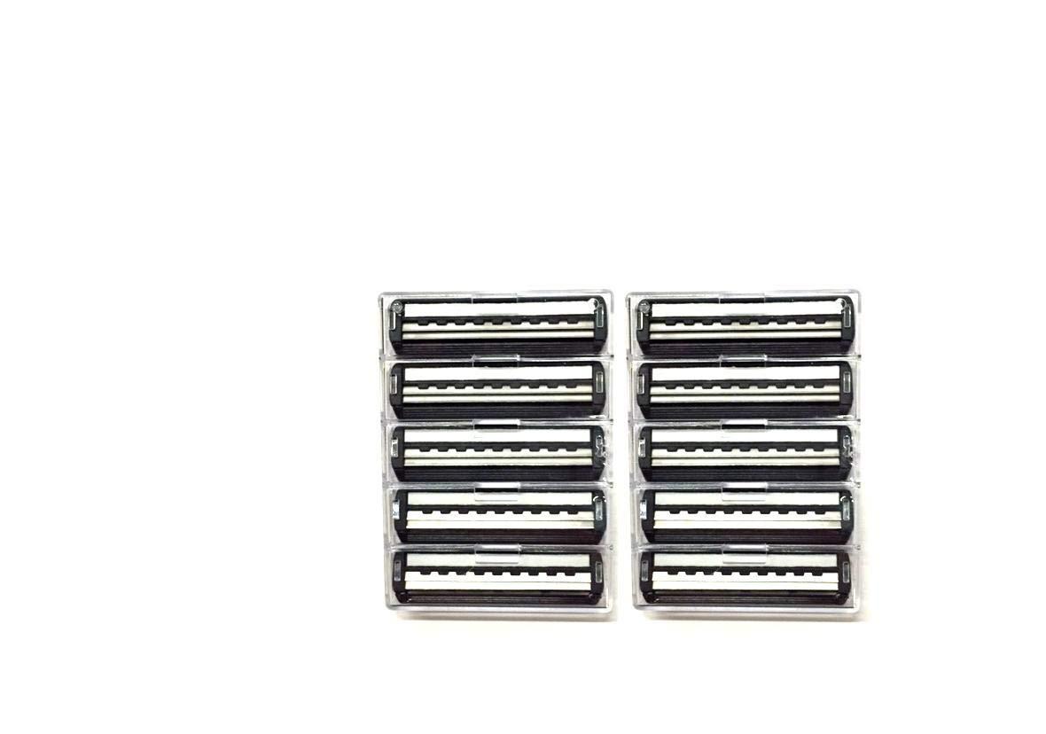 Trac II Plus Refill Razor Blade Cartridges, Bulk Packaging, 10 Count (1 Pack)