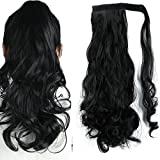 Best S-noilite Full Hair Clip In Hair Extensions - S-noilite Wrap Around on Ponytail Clip in Ponytails Review