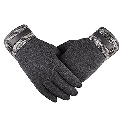 Men Thermal Winter Motorcycle Ski Snow Snowboard Gloves Fashion Winter Outdoor Sport Warm Waterproof Brown