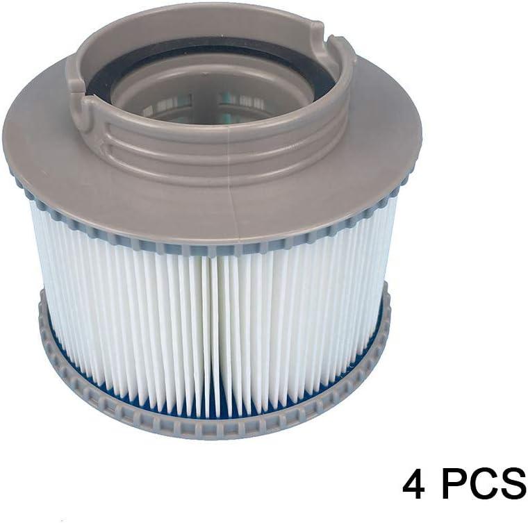 NOBRAND 1//2//4pcs Filter Cartridges Strainer for All Models Hot Tub Spas Swimming Pool for MSPA