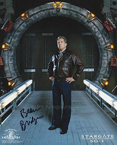BEAU BRIDGES as Major General Hank Landry - Stargate SG-1 GENUINE AUTOGRAPH