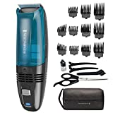 Remington Hc6550 Cordless Vacuum Haircut Kit, Vacuum Beard Trimmer, Hair Clippers for Men (18Piece)