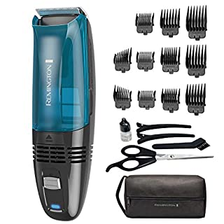 Remington Hc6550 Cordless Vacuum Haircut Kit, Vacuum Beard Trimmer, Hair Clippers for Men (18Piece) (B014SG616I) | Amazon price tracker / tracking, Amazon price history charts, Amazon price watches, Amazon price drop alerts