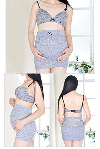 E-Bestar - Faja de embarazo - para mujer gris