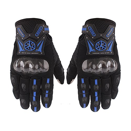 IRON JIA'S Drop Resistant Bicycle Gloves Carbon Fiber Motorcycle Gloves High-Grade Motor Gloves Professional MTB Gloves Protective Cycling Gloves
