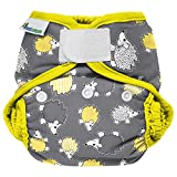 Best Bottom Cloth Diaper Shell-Hook and Loop, Hedgehog by bestbottom