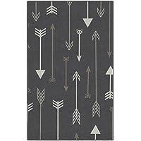 Brumlow Mills EW10233-30x46 Bohemian Arrows Gray Area Rug, 26 x 310