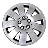 TuningPros WSC-721S16 Hubcaps Wheel Skin Cover 16-Inches Silver Set of 4