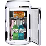 11L can cooler mini fridge portable xhc-11 refegerator for home,car, white color
