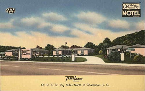 travelodge-mount-pleasant-south-carolina-original-vintage-postcard