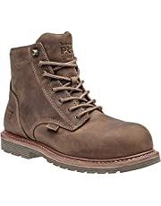 """Timberland PRO Mens Millworks 6"""" Composite Safety Toe Waterproof"""