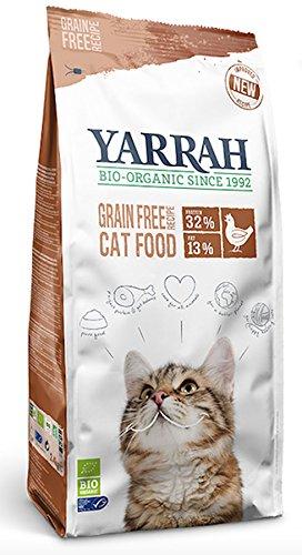 Yarrah Bio croquettes au poulet et poisson sans céréales Chat 2, 4 kg