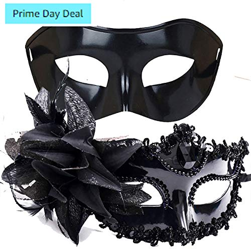 IDOXE Big Sale!! Masquerade Mask for Couples Sexy