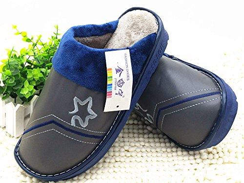 45 48 Usura Pantofole Peluche per 310 Un Re Piedi Spessore Di Aumento Scarpe Calde Cotone La Di Codice Di Cwaixxzz 46 Pantofole 45 Mia 47 Mens Invernale 44 I Antiscivolo Pxn1wq6