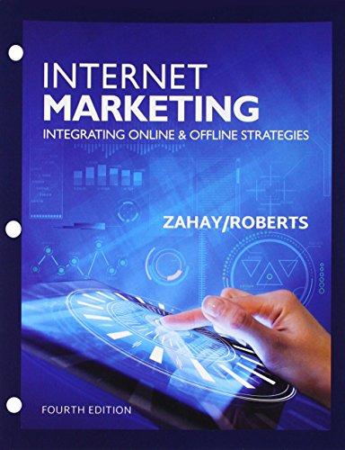 Bundle: Internet Marketing, Loose-Leaf Version, 4th + LMS Integrated for MindTap Marketing, 1 term (6 months) Printed Ac