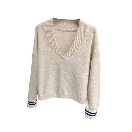 64008cd56e2dd Amazon.com  PLLP Autumn and Winter Sweaters