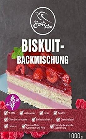 Bäckereiausstattung Biskuit Mix 1000 G Backmischung