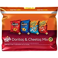 Frito-Lay Doritos & Cheetos Mix Orange Variety Pack, 20 Count