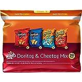 Frito Lay Doritos & Cheetos Mix Orange Variety Pack, 20 Count