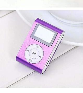 Clip de Metal de Hierro con Reproductor de MP3 con Tarjeta ...