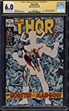#9: Thor #169 CGC SS 6.0 OW/W Pages Stan Lee Autograph Origin Galactus