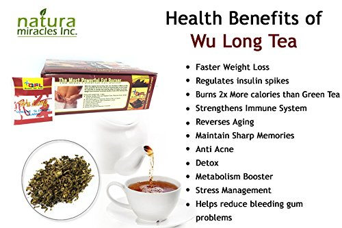Cheap QFL Wulong Premium Chinese Slimming Tea: Highly concentrated All Natural Tea Bags (100 Count)