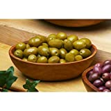 Sicillian Green Olives Imported from Italy - 1 X 11 Lb