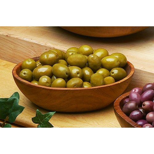 Sicillian Green Olives Imported from Italy - 1 X 11 Lb by Artisan Specialty