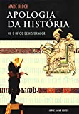 capa de Apologia Da História