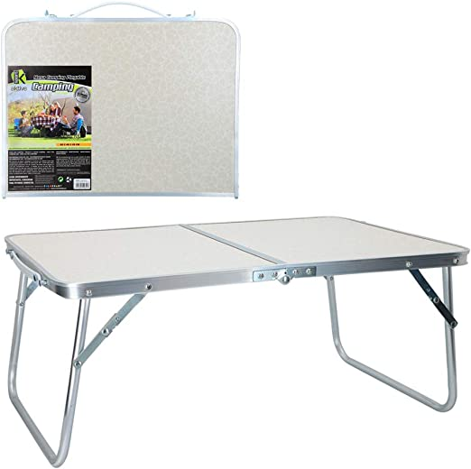 Aktive 52812 Mesa plegable camping Sport, 60 x 40 x 26 cm Blanca ...