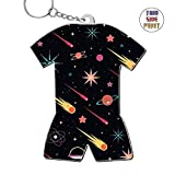 Zinc Alloy Metal Dorm Key Chain,Print Meteor,Best Gift For Friends Boys Girls