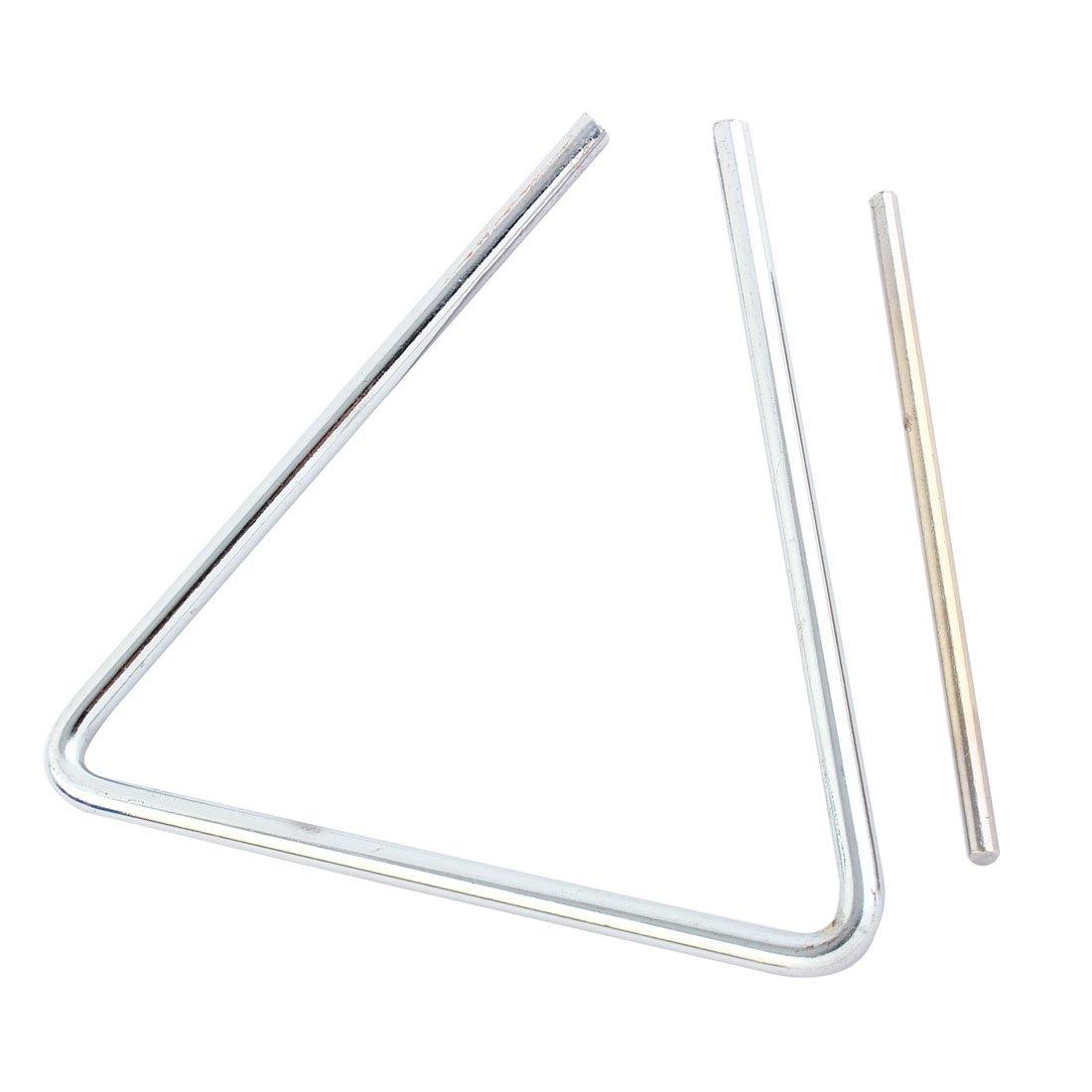 Orquesta Percusión 15.2cm Musical Acero Pedazo Triángulo Sourcingmap Com-8890
