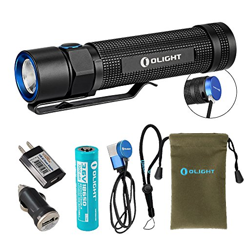 Olight Rechargeable Flashlight Magnetic LumenTac