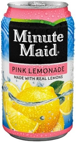 Minute Maid Pink Lemonade, 12 oz Can (Pack of 12) by Unknown