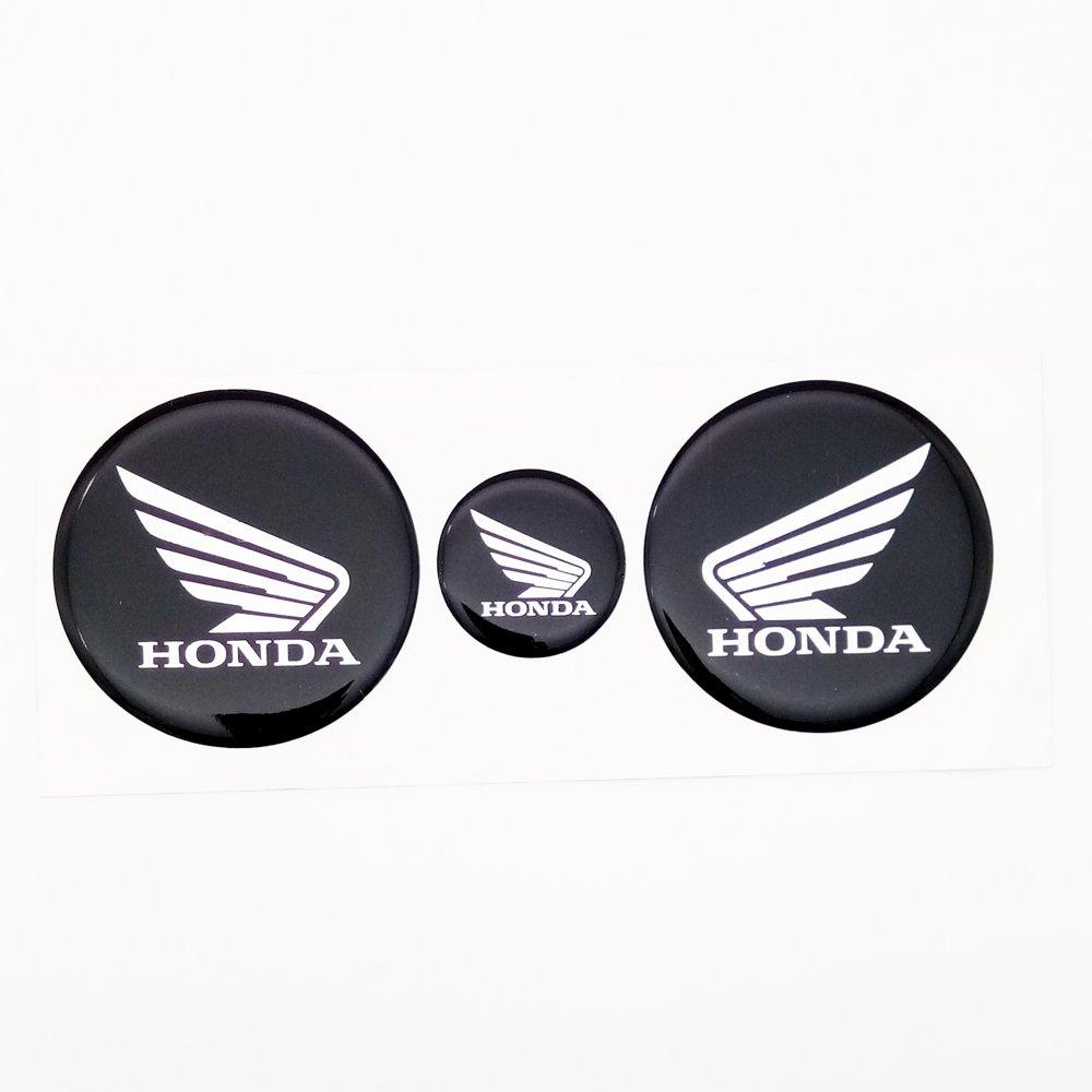 Motocraze honda logo stickers 4 7cms x 2 2 5cm x 1 amazon in car motorbike