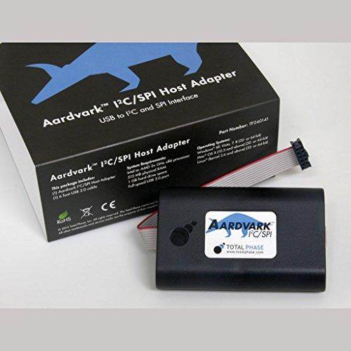 Aardvark I2C/SPI Host Adapter by Total Phase