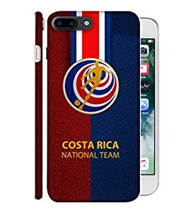 ColorKing Football Costa Rica 12 Multicolor shell case cover for Apple iphone 7 Plus