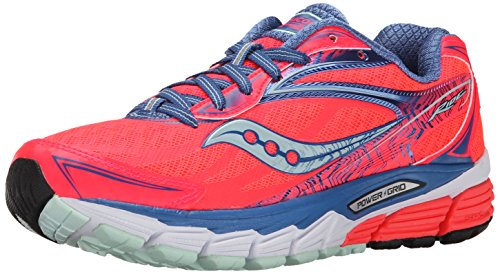 Saucony M US Running Coral Ride Women's Shoe Sea 5 10 Blue 8 qr6WFqHv