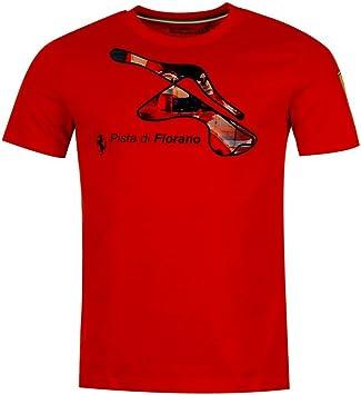 Camiseta Scuderia Ferrari F1 circuito de Fiorano, para hombre, en color rojo, hombre, rojo, Small: Amazon.es: Deportes y aire libre