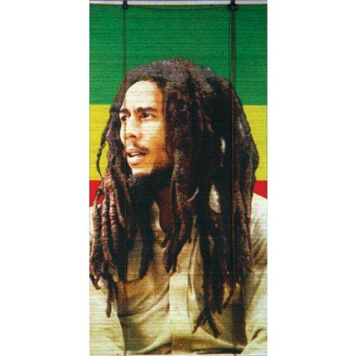 Bob Marley Rasta Reggae Poster Bamboo Window Roll Shade - Shades Rasta