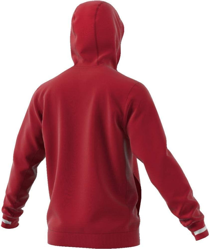 adidas Herren Hoodie Team 19 Power Red/White