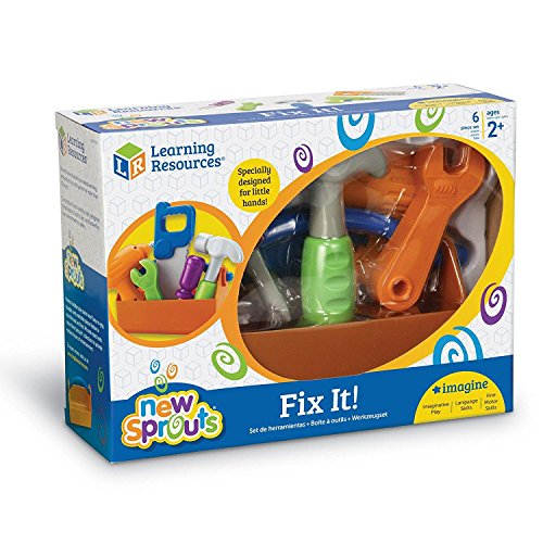 51H32vg7kQL - Learning Resources New Sprouts Fix It!, 6 Pieces