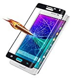 (US) Film TOOPOOT® Full Coverage Tempered Glass Film Protector for Samsung Galaxy Note Edge N9150 (Black)