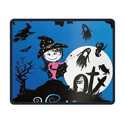 Funny Halloween Scary Rectangle Non-Slip Rubber Mousepad Mouse Pads/Mouse Mats Case Cover -