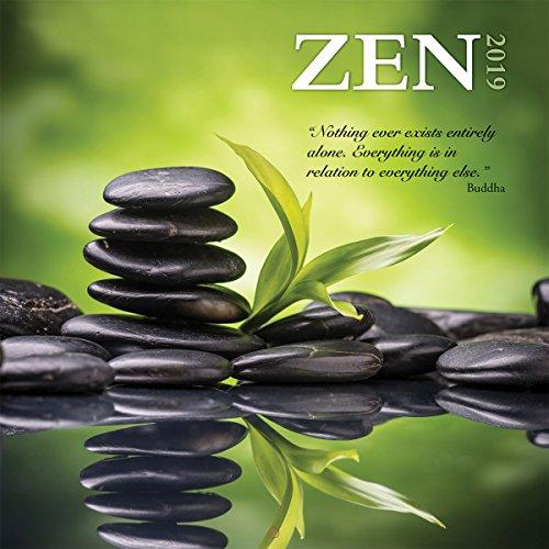 espátula Photo Zen 2019 - Calendario de pared para oficina (199989400600)