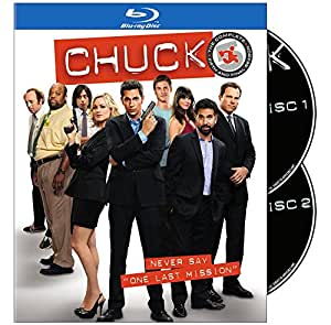 Chuck: The Complete Fifth and Final Season [Blu-ray]