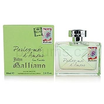 John Galliano Parlez-moi D amour Eau Fraiche Eau de Toilette Spray for Women, 2.7 Ounce