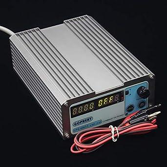 Utini CPS6003 60V 3A 220v//110v 0.01V//0.03A Digital Adjustable DC Power Supply Switching Power Supply Color: B Package, Input Voltage: EU 200