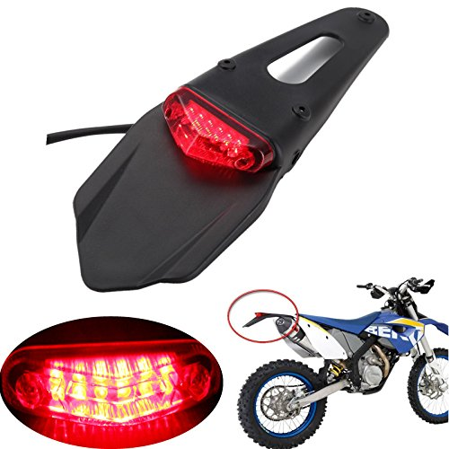 Motorbike Led Number Plate Light in US - 5